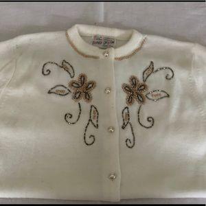 Vintage Beaded Cardigan